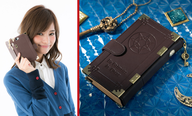 Japan's grimoire smartphone case will let you work mobile magic in style【Photos】