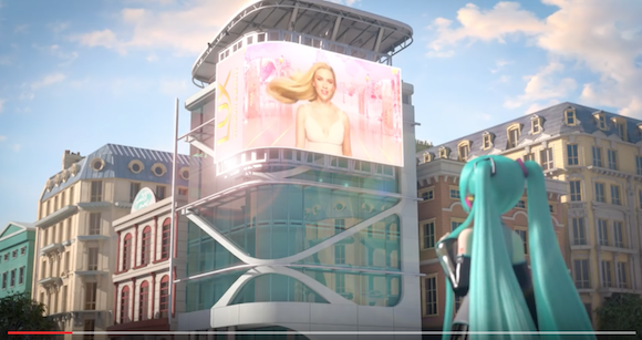 Japanese vocaloid Hatsune Miku takes the reins from Scarlett Johansson in new shampoo commercial
