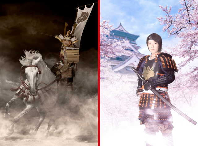 Tokyo's new samurai photo studio sends you to Japan's feudal era with awesome digital backdrops