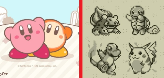 LINE Messenger pleases Nintendo fans with new Kirby, 8-bit Pokémon backgrounds