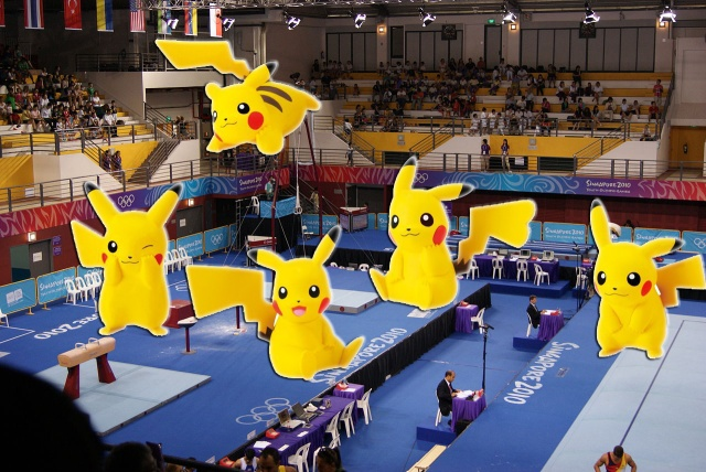 "French Olympic announcer in hot water for calling Japanese gymnasts ""little Pikachus"""