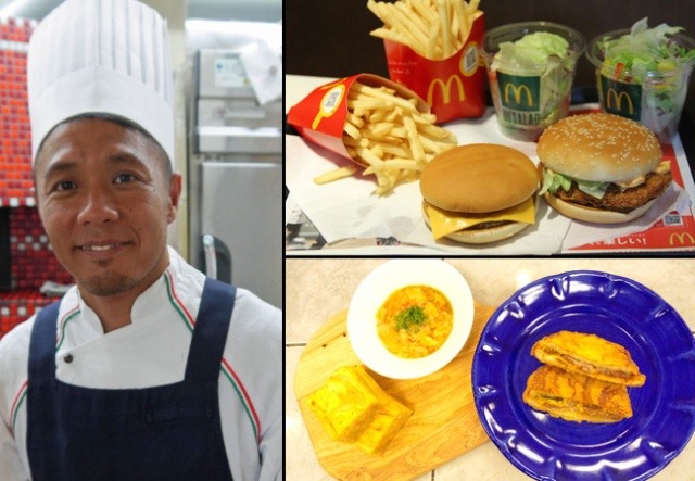 Watch Kanto's Strongest Italian Chef transform McDonald's into fine cuisine!【Recipe】