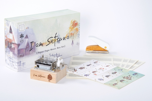 Experience I am Setsuna's moving theme as a beautiful paper-tape music box