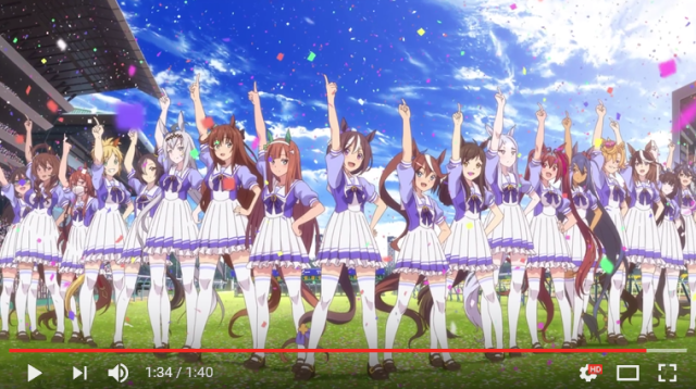 Historical race horse schoolgirl lesbian idol singers, all in one new Japanese video game【Video】