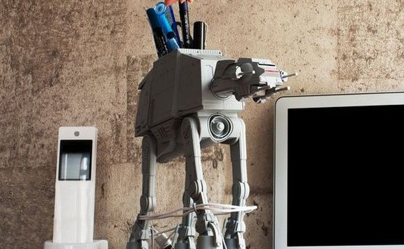 Clever AT-AT multipurpose stand helps organize your desk, recreate iconic Star Wars moment