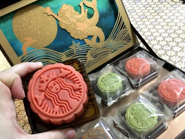 Starbucks Mooncakes: a beautiful and delicious take on a traditional product