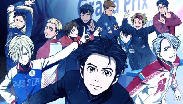 Hot guys on ice! Original figure skating anime Yuri On Ice premieres this October!