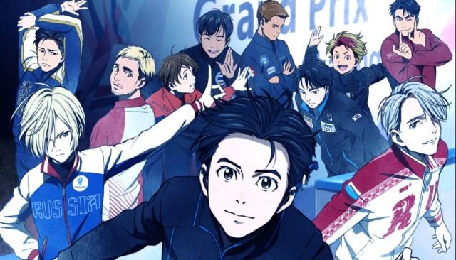 Hot guys on ice! Original figure skating anime Yuri On Ice premieres this October!