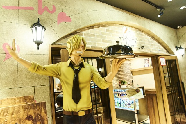 Visiting the official One Piece Library Cafe【Photo Report】