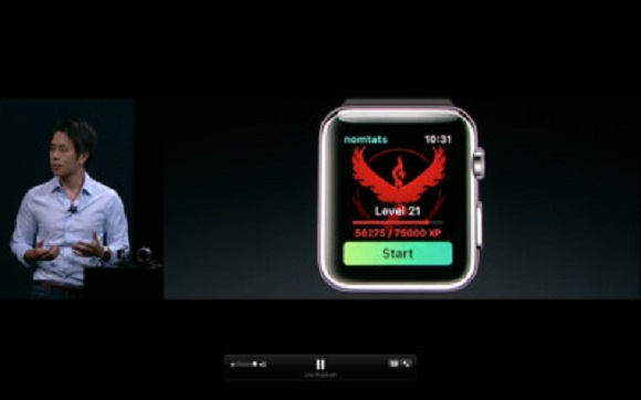 Pokémon Go to Launch for Apple Watch