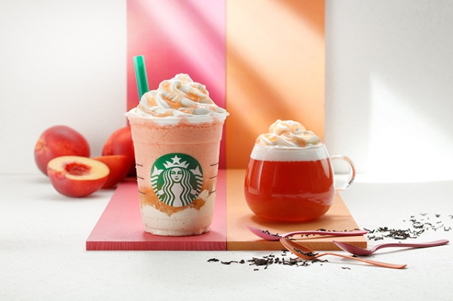 Starbucks Japan releases their first ever creamy fruit tea Frappuccino