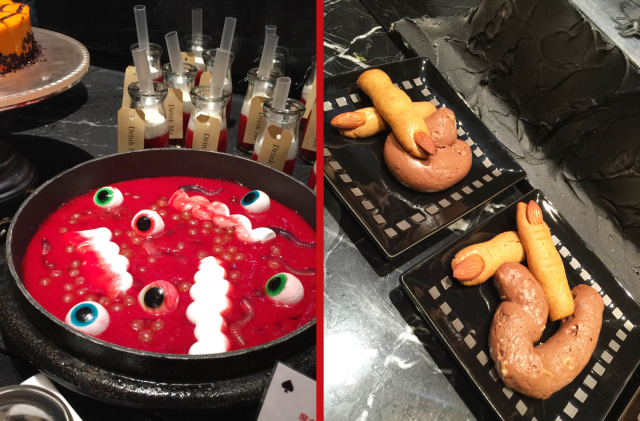"Tokyo hotel celebrates Halloween with ""bloodstained"" cake and chocolate that looks like turds"