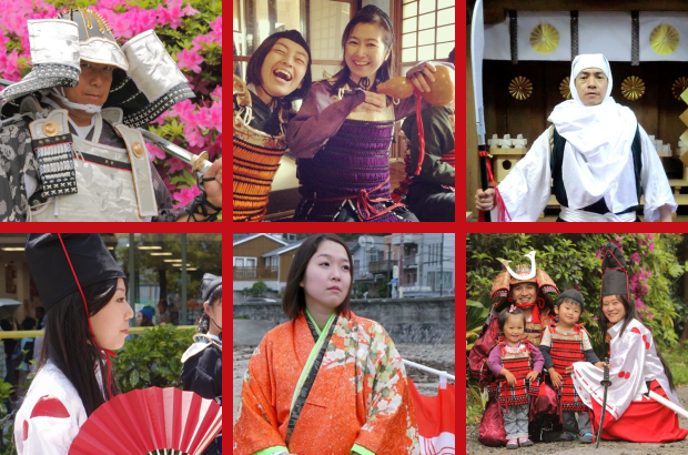 Tour Japan's former capital dressed as a samurai or noble lady on awesome day trip from Tokyo