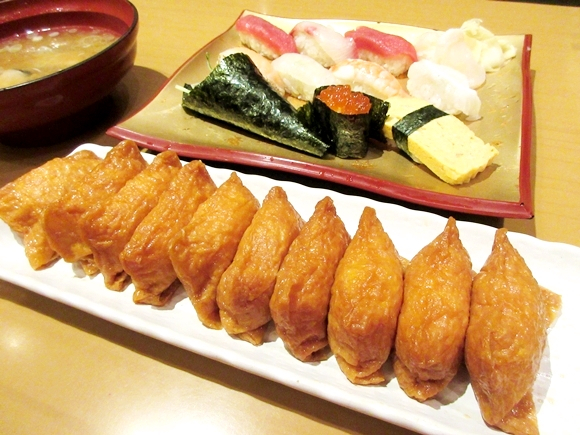 Cheapo News: We discover a Tokyo sushi shop with unlimited inari-zushi
