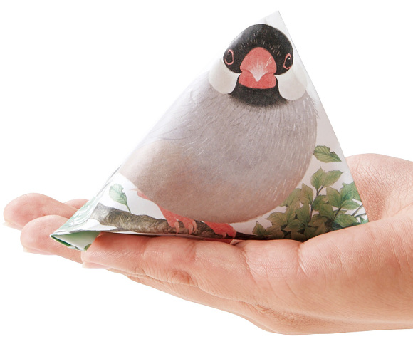 Give gifts in Japanese origami-style bird envelope pouches!