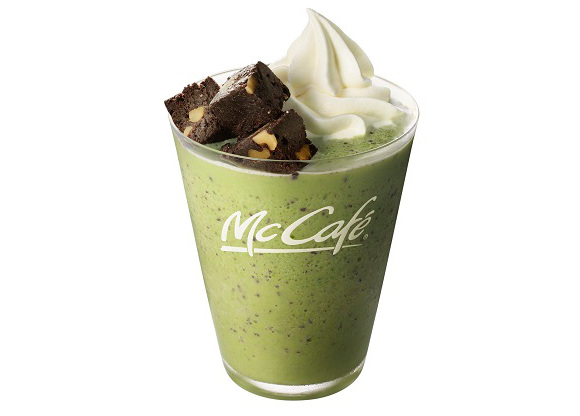 McDonald's Japan releases matcha green tea cake, frappes and lattes for a limited time