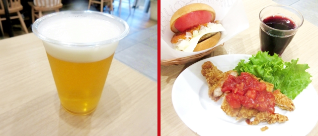 Burgers and beer! Japan's most popular domestic burger chain sells beer, wine at select locations