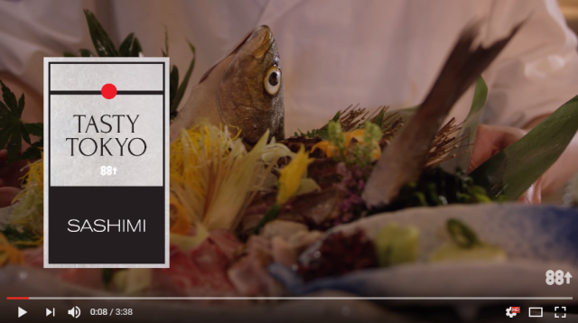 Watch a sashimi master chef slice a fish like it's no big deal【Video】
