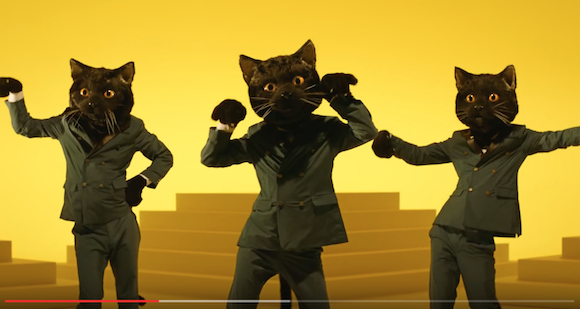 "Japan's Kuroneko Black Cat delivery company releases hilarious ""I Stepped on a Cat"" music video"