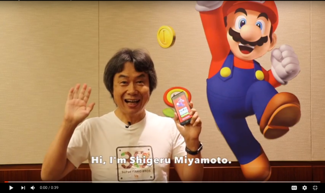 Mario creator demonstrates Super Mario Run gameplay in new video