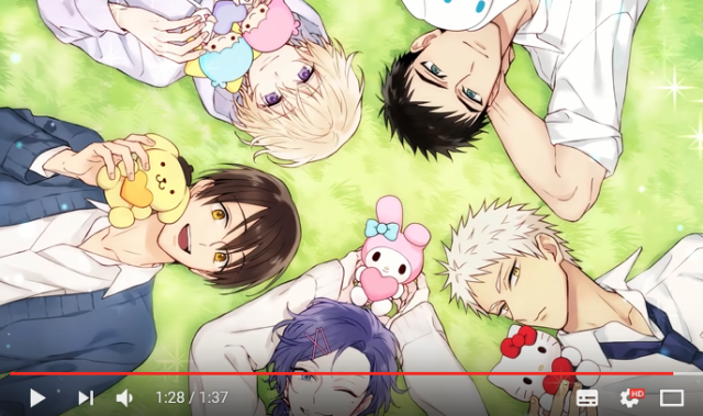 Japan's Sanrio Boys are ready to love not just Hello Kitty, but you too in new dating simulator