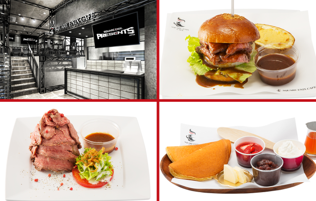 Square Enix Cafe opening in Tokyo next month with revolving themes, delicious-looking sandwiches