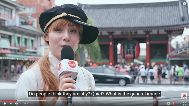 Are Japanese people shy? Or is their politeness getting a little lost in translation?【Video】
