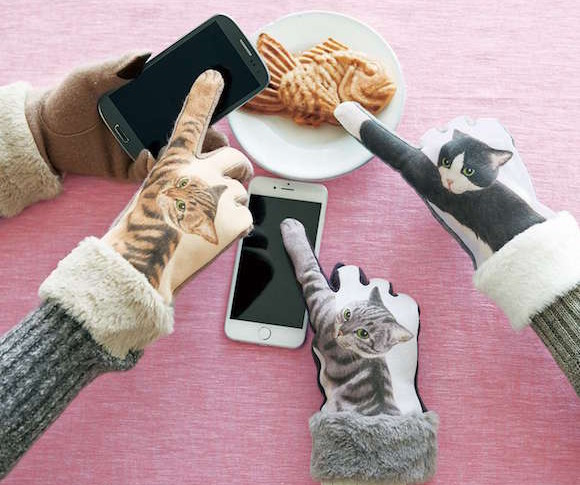 Winter 2016 Cat Punch Gloves from Felissimo come with adorable new details