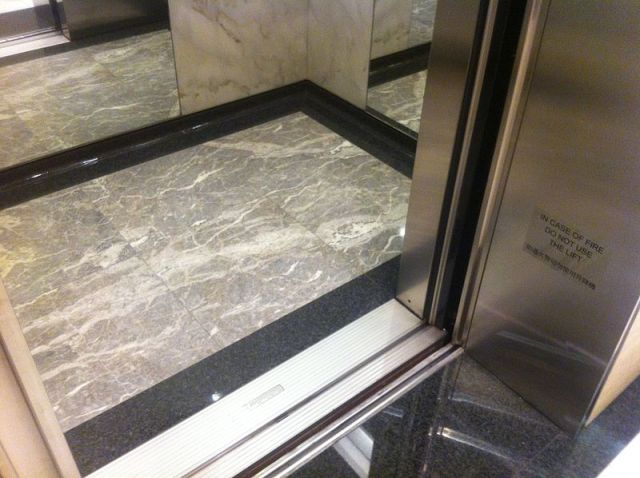 Junior high student in China trapped in elevator for five hours, grateful for time to do homework