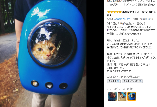 Don't want to tote around your kitty in a cage? Use a cat capsule backpack instead! 【Pics】