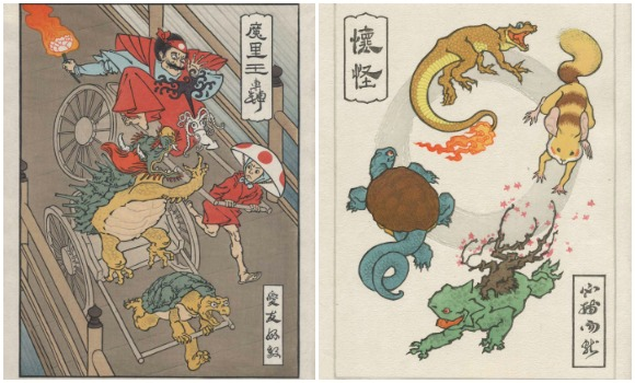 Ukiyo-e Heroes: Amazing Nintendo woodblock prints created via traditional, handmade methods【Pics】