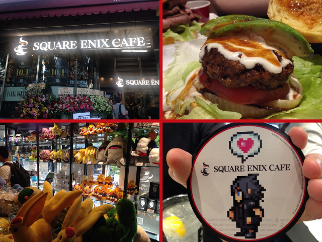 Tokyo's new Square Enix Cafe is open, and we just stuffed our faces at the video game eatery