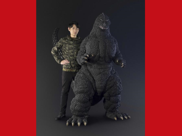 Massive Godzilla figure stands more than six feet tall, costs more than $40,000 dollars