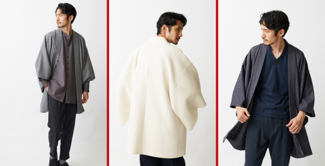 Modern samurai coats from Japan are back for winter with new colors, fabrics, and paired pants