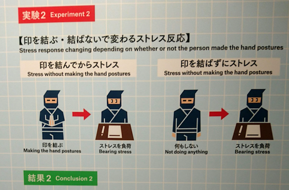 Scientific study from Japan proves ninja hand gestures sharpen the mind and reduce stress