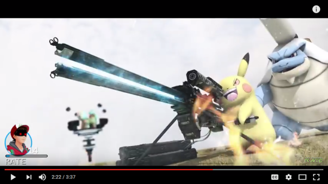 Pokémon GO turns into Pokémon GO TO WAR in super-intense, high-quality fan video 【Video】