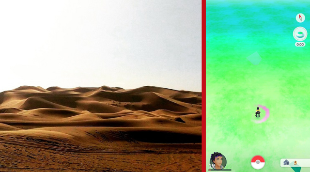 Can you catch Pokémon GO Pokémon in the Sahara Desert? We head to North Africa and find out