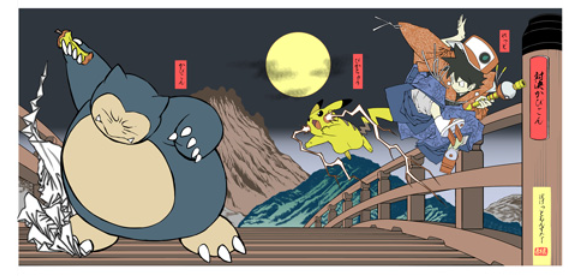 Pokémon becomes fine art with series of two hand-crafted Pikachu woodblock prints fans can buy