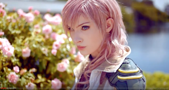 Cosplayer reveals secrets behind her awesome transformation into Lightning from Final Fantasy