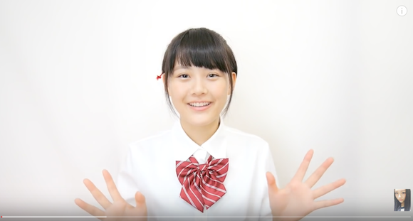 Japanese high school student shows how to recreate cute hairstyle from hit anime Your Name