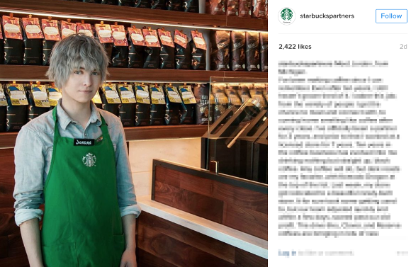 This Michigan Starbucks barista looks just like a Final Fantasy character