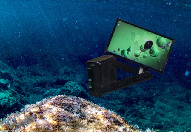 "Researchers closing in on ""Submersible Computers"" that can be cooled in the ocean"
