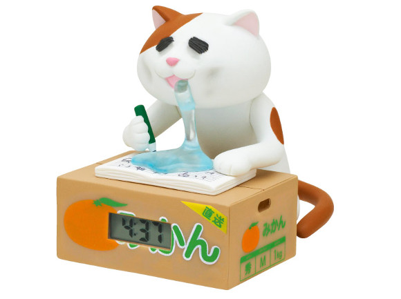 "New ""All Night Cat Watch"" toy series created in Japan to keep late sleepers company"
