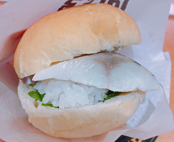 Sushi hot dogs and burgers on the menu at Japanese sushi restaurant【Taste Test】