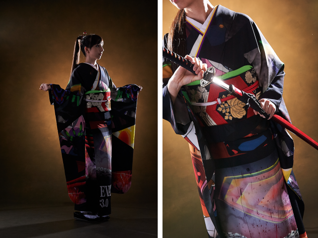 Final design for Evangelion kimono has been decided, ready for pre-order now!