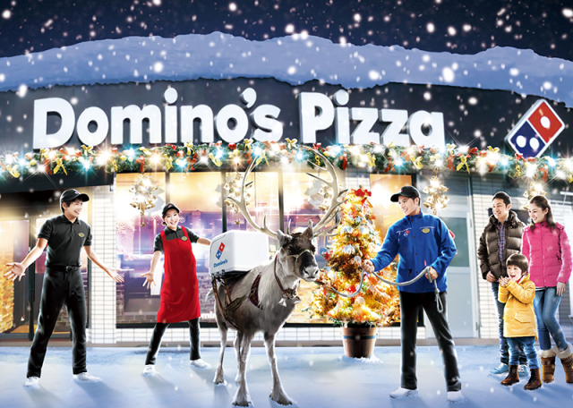 Domino's Pizza is actually training reindeer for delivery in northern Japan