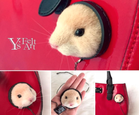 Decorate your bag and clothes with these totally adorable pin-free brooches!
