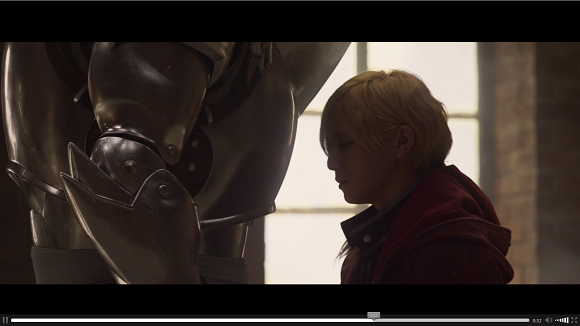 First trailer released for Fullmetal Alchemist live-action film shows potential for awesome【Vid】