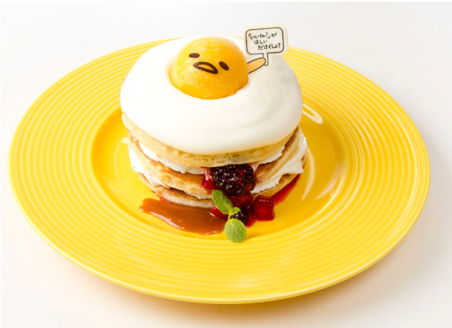 Lazy Sanrio egg Gudetama opens new restaurant in Tokyo!