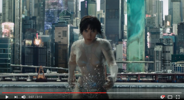Live-action Ghost in the Shell recreates anime's most famous fight scene in new preview 【Video】